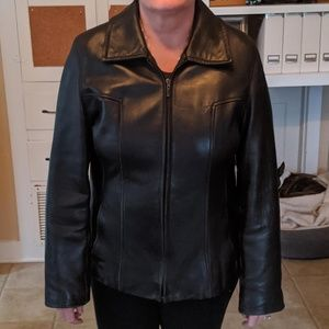 New York by Winlet Leather Jacket